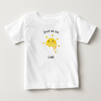"Spanish Language ""Eres un sol"" Baby T-Shirt"