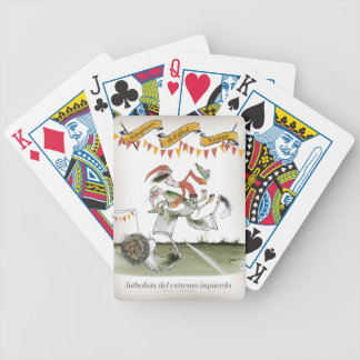 spanish left wing footballer bicycle playing cards