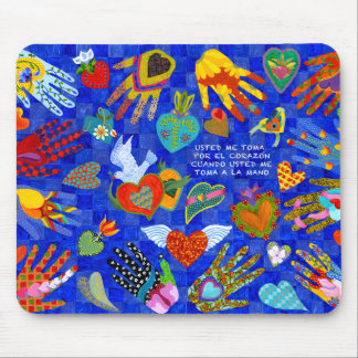 Spanish Love saying for anyone you love Mouse Pad