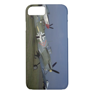 Spanish Messerschmitt ME 109,Right_WWII Planes iPhone 7 Case