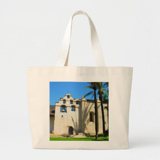 Spanish mission bell large tote bag