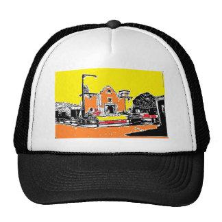 Spanish Mission in Sunshine Trucker Hat