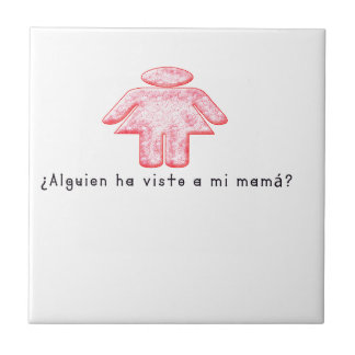 Spanish-Momma Ceramic Tile