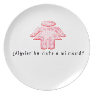 Spanish-Momma Plate