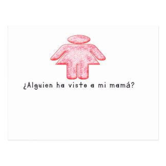 Spanish-Momma Postcard