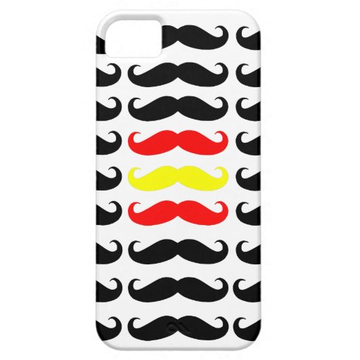 Spanish moustaches iPhone 5 covers