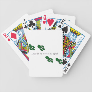 Spanish-Ogre Bicycle Playing Cards