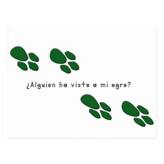 Spanish-Ogre Postcard