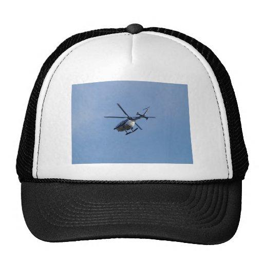 Spanish Police Messerschmitt Helicopter Hats