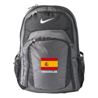 Spanish pride flag of Spain personalized Backpack