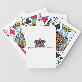 Spanish-Queen Bicycle Playing Cards