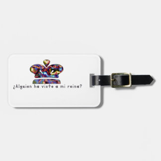 Spanish-Queen Luggage Tag