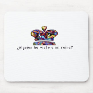 Spanish-Queen Mouse Pad