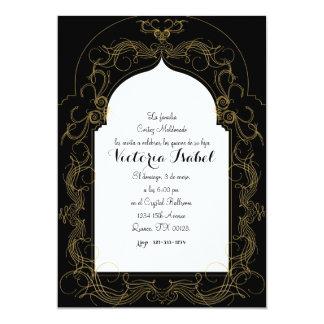 spanish quince MOROCCAN quince invitation