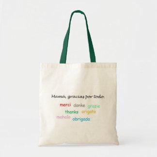 Spanish Quotes Canvas Bag