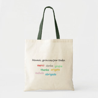 Spanish Quotes Budget Tote Bag