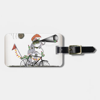 spanish referee luggage tag