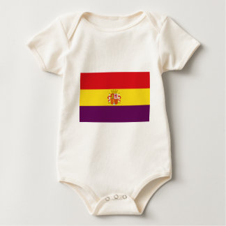 Spanish Republican Flag - Bandera República España Baby Bodysuit