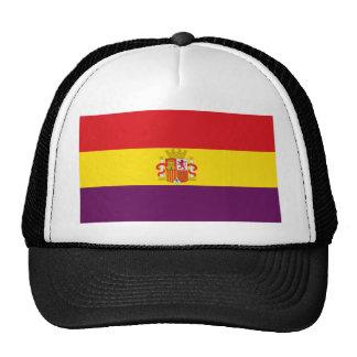 Spanish Republican Flag - Bandera República España Cap