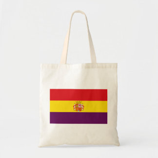 Spanish Republican Flag - Bandera República España Tote Bag
