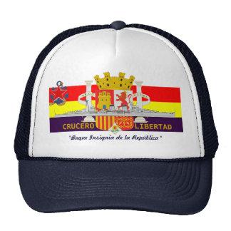 "Spanish Republican Navy Cruiser ""LIBERTAD"" Cap"