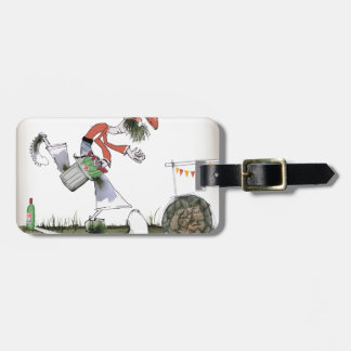 spanish right wing footballer luggage tag
