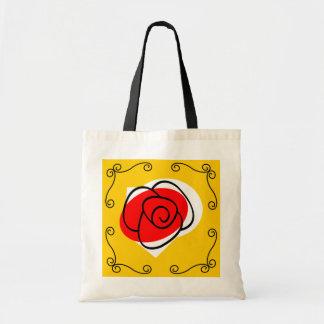 Spanish Rose Corners tote