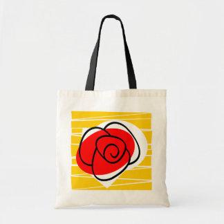 Spanish Rose tote