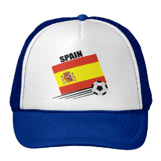 Spanish Soccer Team Hats