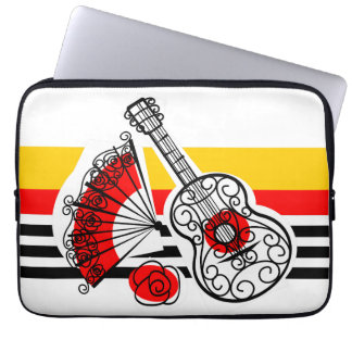 Spanish Souvenirs Classic Stripe laptop sleeve