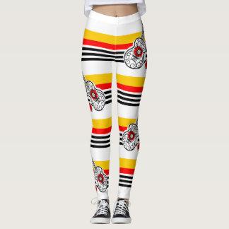 Spanish Souvenirs Classic Stripe leggings