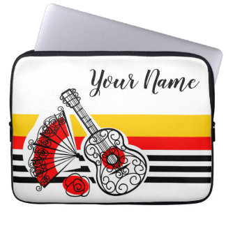 Spanish Souvenirs Classic Stripe Name sleeve