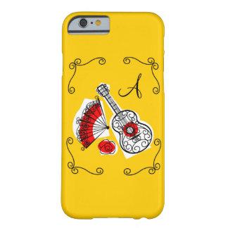 Spanish Souvenirs corners monogram iPhone 6 case