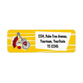 Spanish Souvenirs return address label