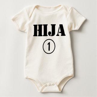 Spanish Speaking Daughters : Hija Numero Uno Baby Bodysuit