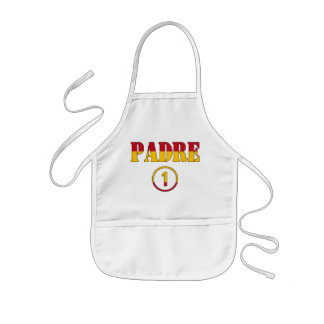 Spanish Speaking Fathers & Dads : Padre Numero Uno Kids' Apron