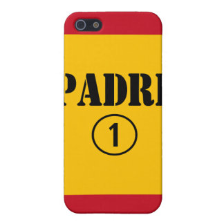 Spanish Speaking Fathers Dads Padre Numero Uno iPhone 5 Cases