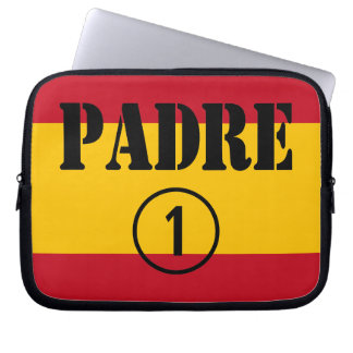 Spanish Speaking Fathers Dads Padre Numero Uno Computer Sleeves