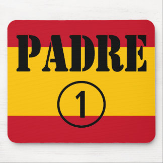 Spanish Speaking Fathers Dads Padre Numero Uno Mouse Pads