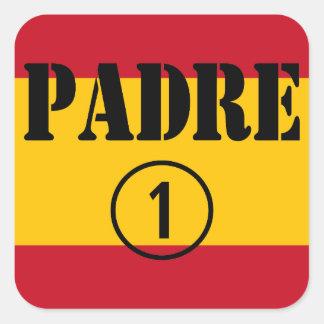 Spanish Speaking Fathers Dads Padre Numero Uno Sticker