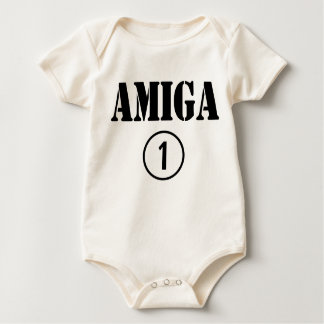 Spanish Speaking Girl Friends : Amiga Numero Uno Baby Bodysuit