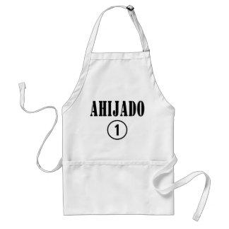 Spanish Speaking Godsons : Ahijado Numero Uno Adult Apron