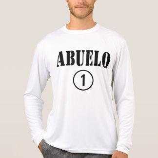 Spanish Speaking Grandfathers : Abuelo Numero Uno T Shirts