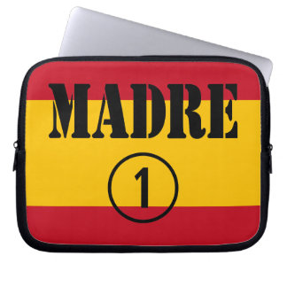 Spanish Speaking Mothers Moms Madre Numero Uno Computer Sleeve