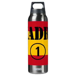 Spanish Speaking Mothers & Moms : Madre Numero Uno 16 Oz Insulated SIGG Thermos Water Bottle