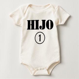 Spanish Speaking Sons : Hijo Numero Uno Baby Bodysuit