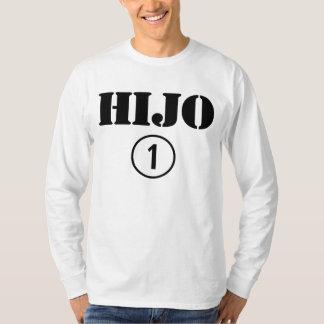 Spanish Speaking Sons : Hijo Numero Uno T-Shirt