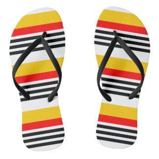 Spanish Stripe Classic flip flops
