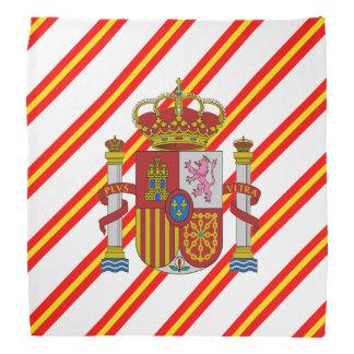 Spanish stripes flag bandana