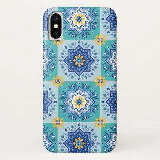 Spanish sun & sea iPhone x case